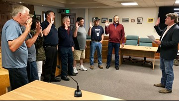 New leaders sworn in to replace ousted King County drainage district commissioners
