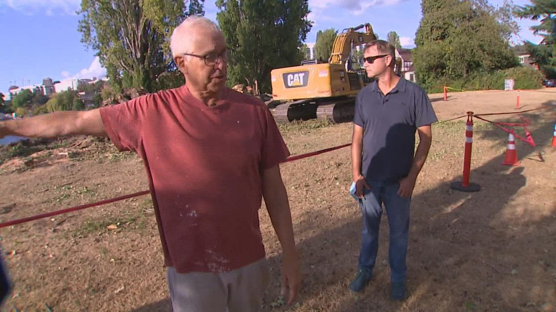 Montlake residents breathe sigh of relief after hazardous tree removal