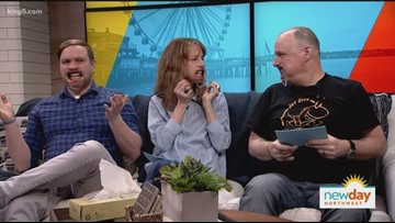 Watch your favorite Seattle jokesters play Speak Out - New Day Northwest