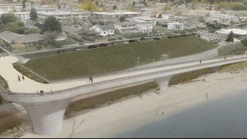 Controversial overpass proposed for Edmonds waterfront
