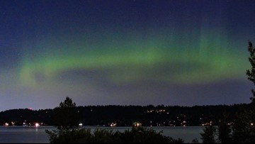 Look for the northern lights over western Washington this weekend