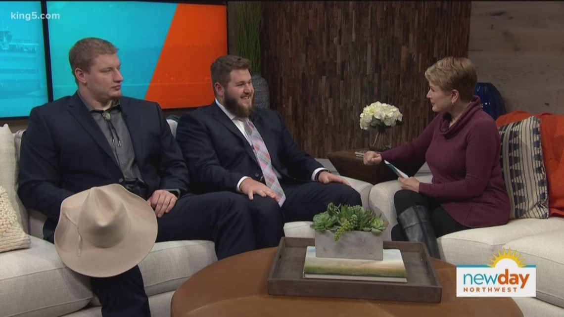 Morris Trophy winners visit New Day Northwest - New Day Northwest