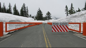 Mount Baker Highway to Artist Point closes for winter
