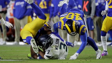 Seahawks get first road loss as LA Rams overpower them 28-12