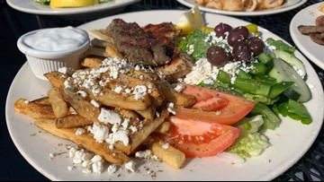 Greek food with a view at this West Seattle favorite!