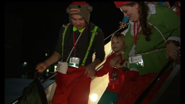 Fantasy Flight takes Spokane kids to the North Pole