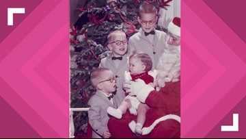 Family has taken photos with Santa for 60 years