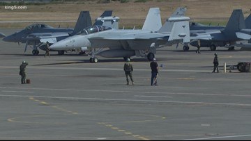 Navy secretary calls Whidbey Island jet noise lawsuit a 'top priority'