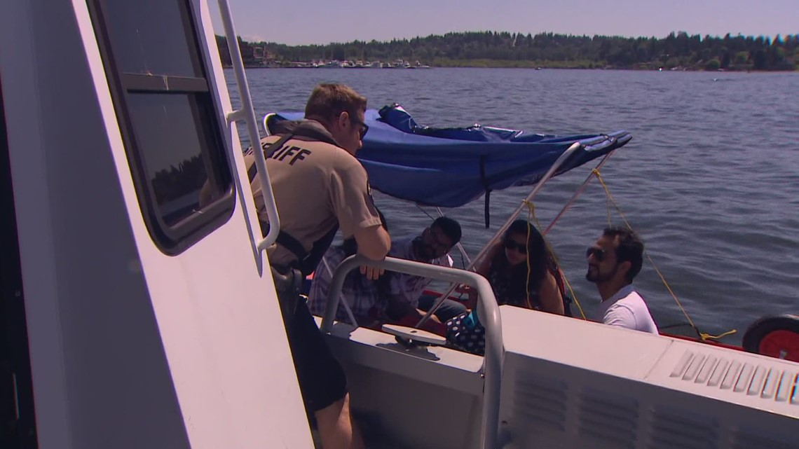 King County Sheriff's Office Marine unit warns of danger on the water as weather improves