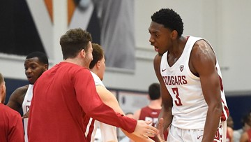 Franks scores 34, Washington State stuns Sun Devils 91-70