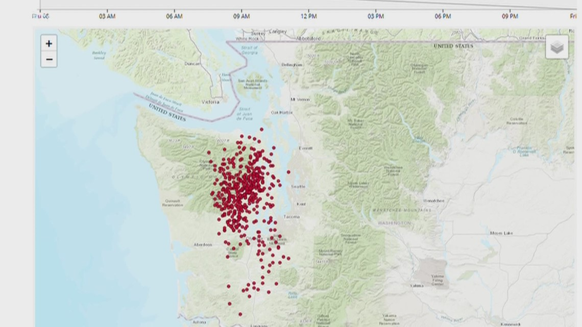 Washington scientists study 'silent quakes' to possibly track bigger earthquakes
