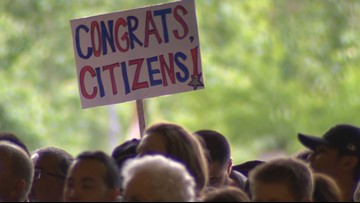 62 new US citizens naturalized in Seattle | king5 com