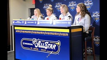 Seattle hockey scout among women grabbing spotlight at NHL All-Star Weekend