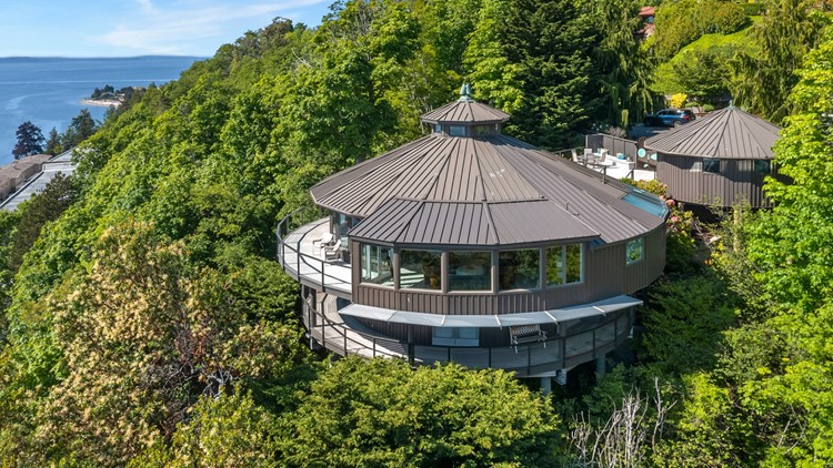 Round West Seattle home is out of the box - Unreal Estate