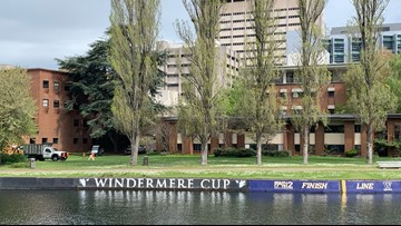 Touring Montlake with the UW rowing coach - Neighbor in the Know - KING 5 Evening