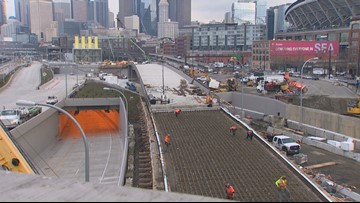 SR 99 tunnel work continues to move quickly in Seattle
