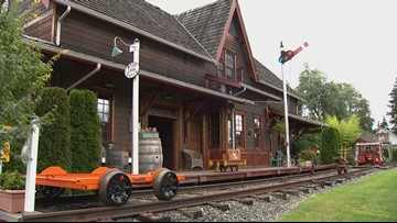 Life on the Rails for the Most Unusual Home in Snohomish