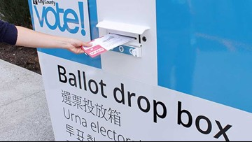 Where to drop off your stamp-free ballot before election day