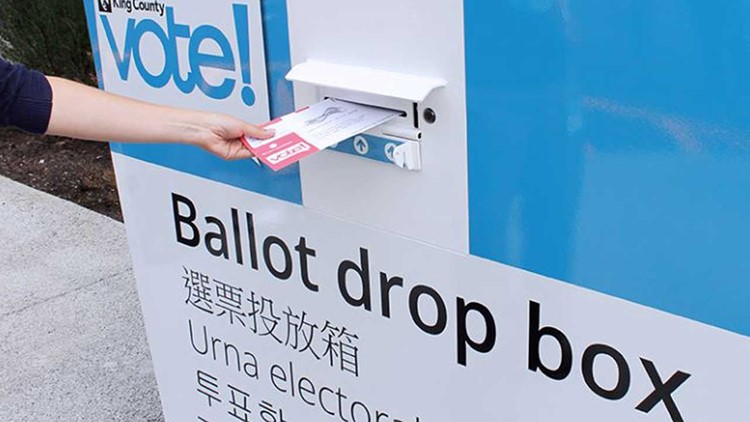 List of ballot drop boxes in Washington: Where to drop off your stamp-free ballot