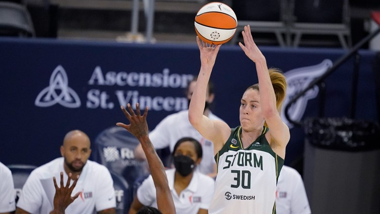Stewart helps Seattle win 5th straight, 79-69 over Indiana