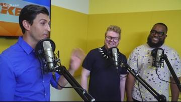 Seattle creators of 'He Said He Said' podcast stop by KING 5
