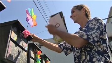 North Seattle neighbors deliver fun and friendship to retiring mail carrier