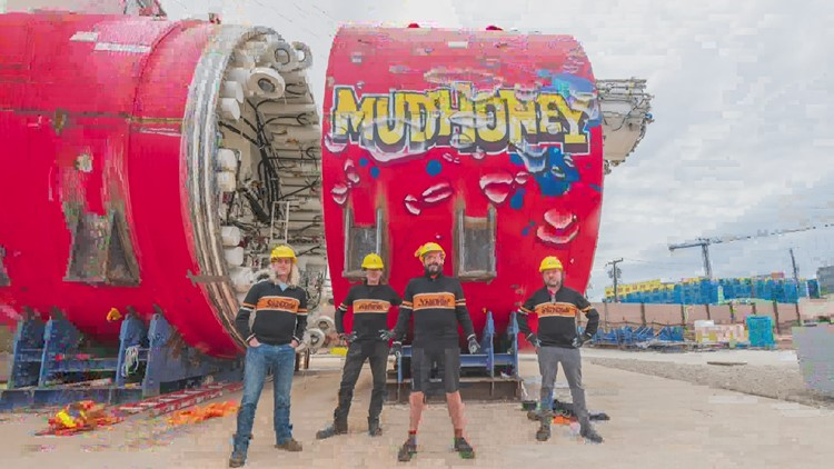Meet Mudhoney: Seattle's newest tunnel boring machine gets a name