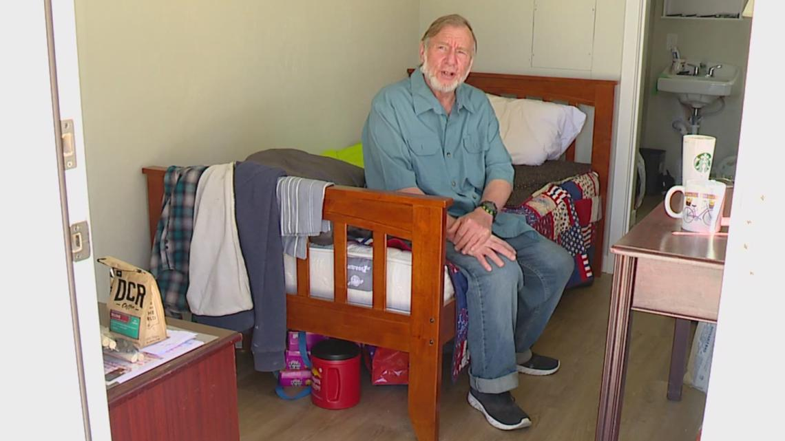 Tiny home village for military veterans opens in Orting