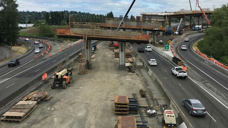 I-405/SR-167 flyover ramp opens Thursday ahead of schedule