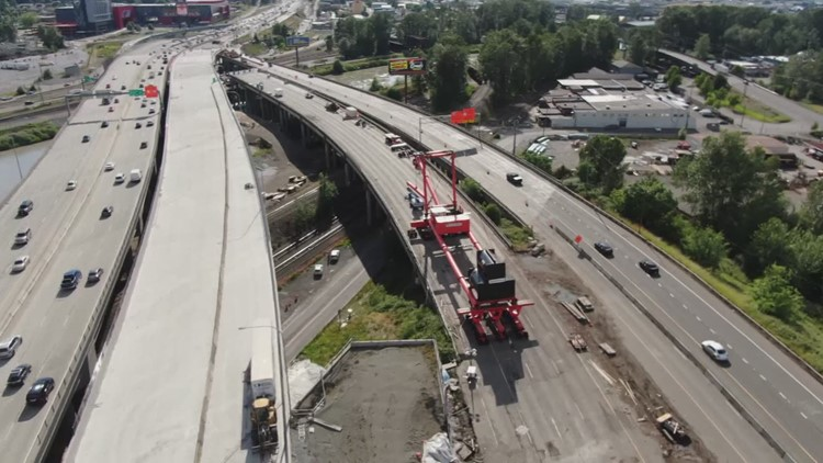 Traffic changes coming this weekend for southbound I-5 in Tacoma