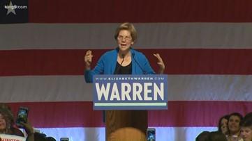 Sen. Elizabeth Warren campaigns in Seattle