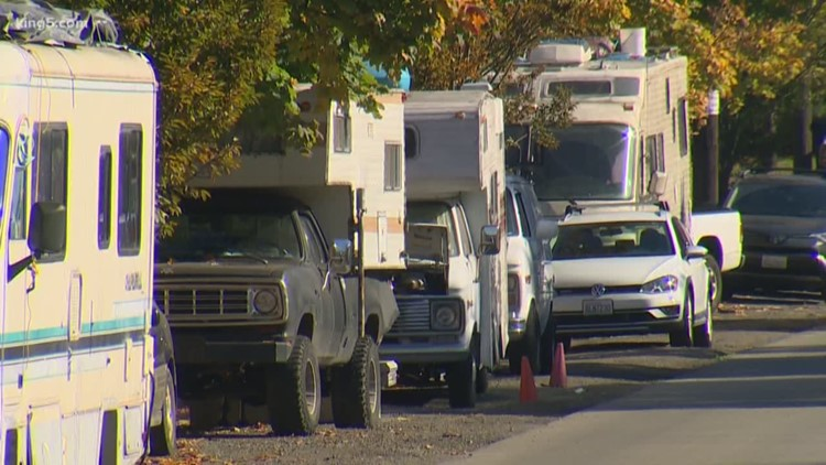 Seattle City Council moves to crackdown on RVs, those who rent them out