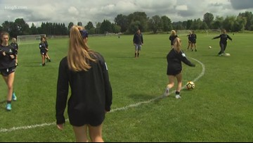 Snohomish girls youth soccer team shoots for national title