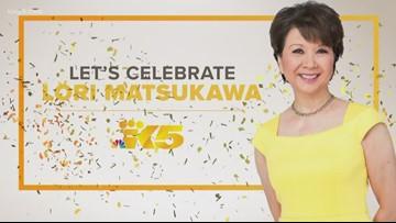 Celebrating KING 5 anchor Lori Matsukawa, retiring after 36
