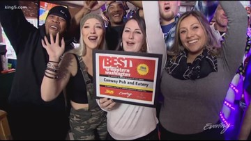 Conway Pub & Eatery is Western Washington's favorite dive bar - KING 5 Evening