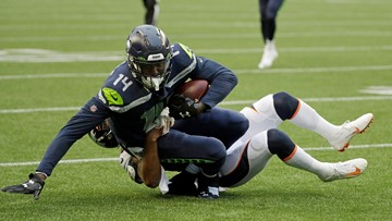 Seahawks rookie WR Metcalf to have minor knee surgery