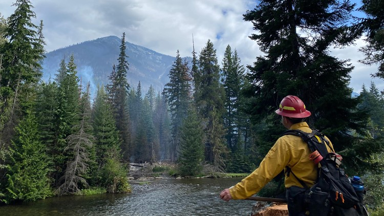KING 5's Glenn Farley gives update on wildfires in Washington state