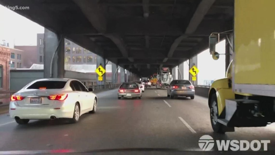 Southbound lanes of viaduct closed this weekend