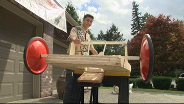 Sammamish Boy Scout puts the pedal to the metal on his passion for helping kids with special needs