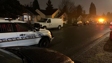 Homeowner exchanges gunfire with suspected car prowler in Tacoma