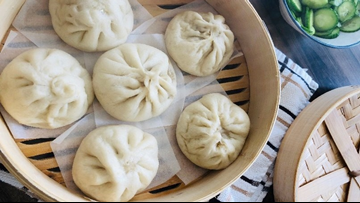 These Steamed Pork Bao are Abominable-inspired and Yeti-sized