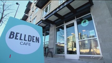 Treat yourself to a latte and give back to local non-profits at Bellevue coffee shop - KING 5 Evening