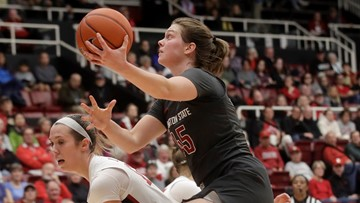 Hristova sets record and leads Cougars past Cal, 96-75