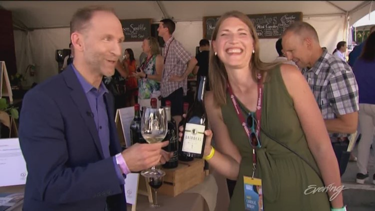 Fri, 8/16, Chateau Ste. Michelle Winery in Woodinville, Full Episode, KING 5 Evening