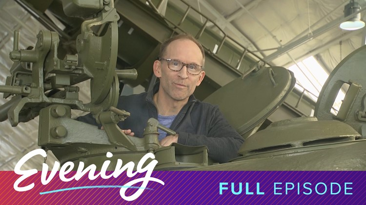 Mon 11/11, Veterans Day Special from the Flying Heritage & Combat Armor Museum in Everett, Full Episode, KING 5 Evening