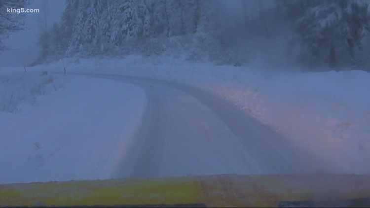 WSDOT warns of 'very challenging' 24 hours over Snoqualmie Pass