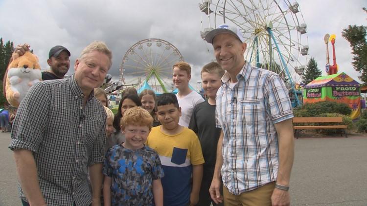 Thurs, 8/22, Evergreen State Fair in Monroe, Full Episode, KING 5 Evening