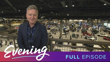Thurs 11/14, Seattle International Auto Show at CenturyLink Event Center in Seattle, Full Episode, KING 5 Evening