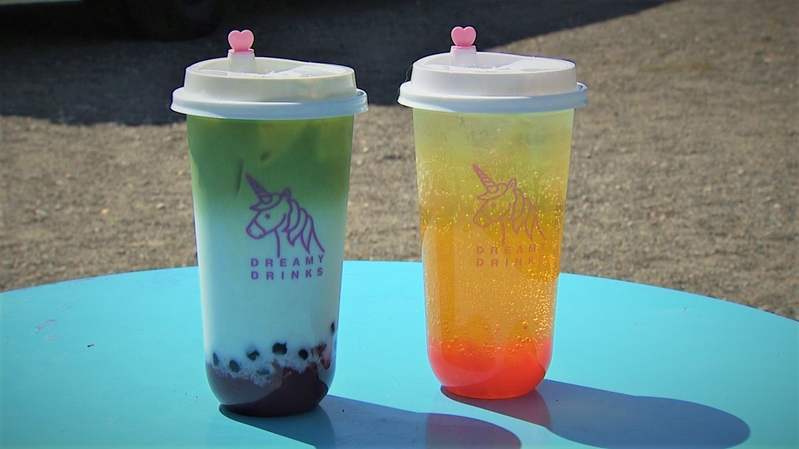 Seattle's first bubble tea food truck is here and the drinks are adorable