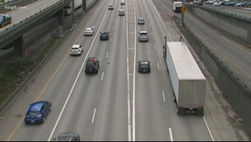 Lane closures to impact traffic around Puget Sound this weekend